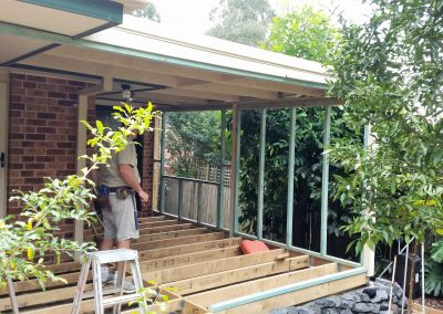 Verandah fill- in Boambee East 2017