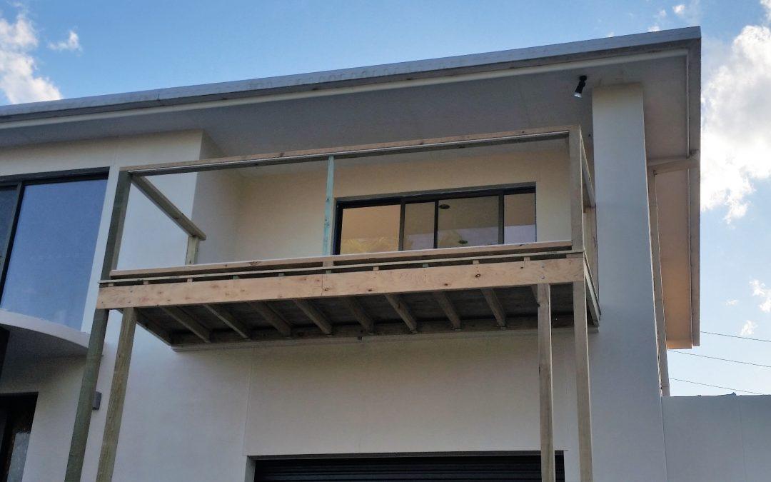 Balcony and internal carpentry Nambucca Heads 2017
