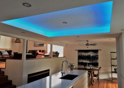 Kitchen Renovation Coffs Harbour - Bulkhead with strip lighting 2